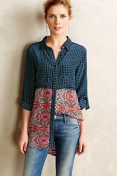 0b520d877e3 Идея переделки рубашки   Блузки   Своими руками - выкройки ...