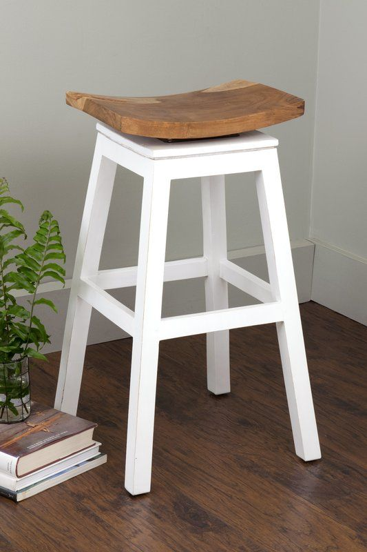 Probst Swivel Solid Wood 29 Quot Bar Stool With Images Bar
