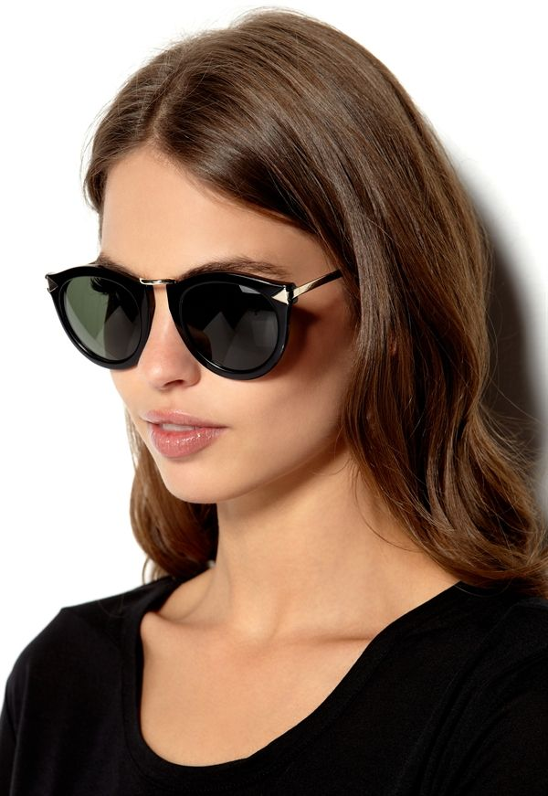 c7e7b678eeec Karen Walker Black Harvest Sunglasses | ADD | Sunglasses accessories ...