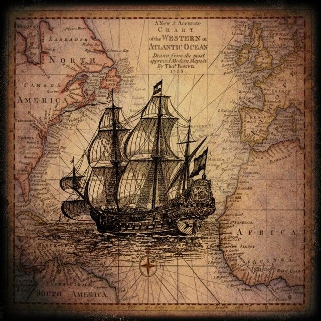 Pin By Rachel Dare On Of The Sea Vintage Maps Ship Map Antique Maps