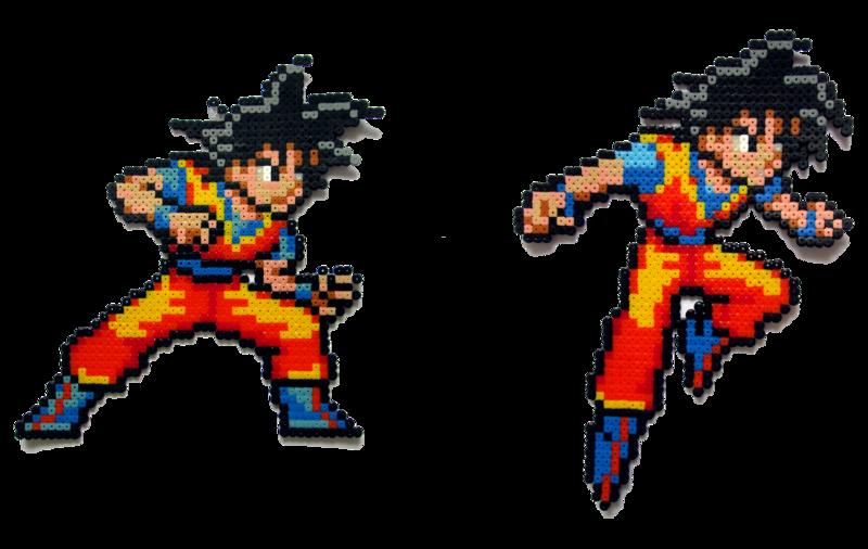 Son Goku Son Goku Anime Pixel Art Dragon Ball Art