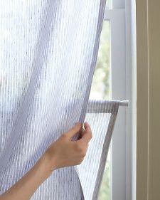 Diy Custom Window Shade Easy Fabric Using Tension Rods