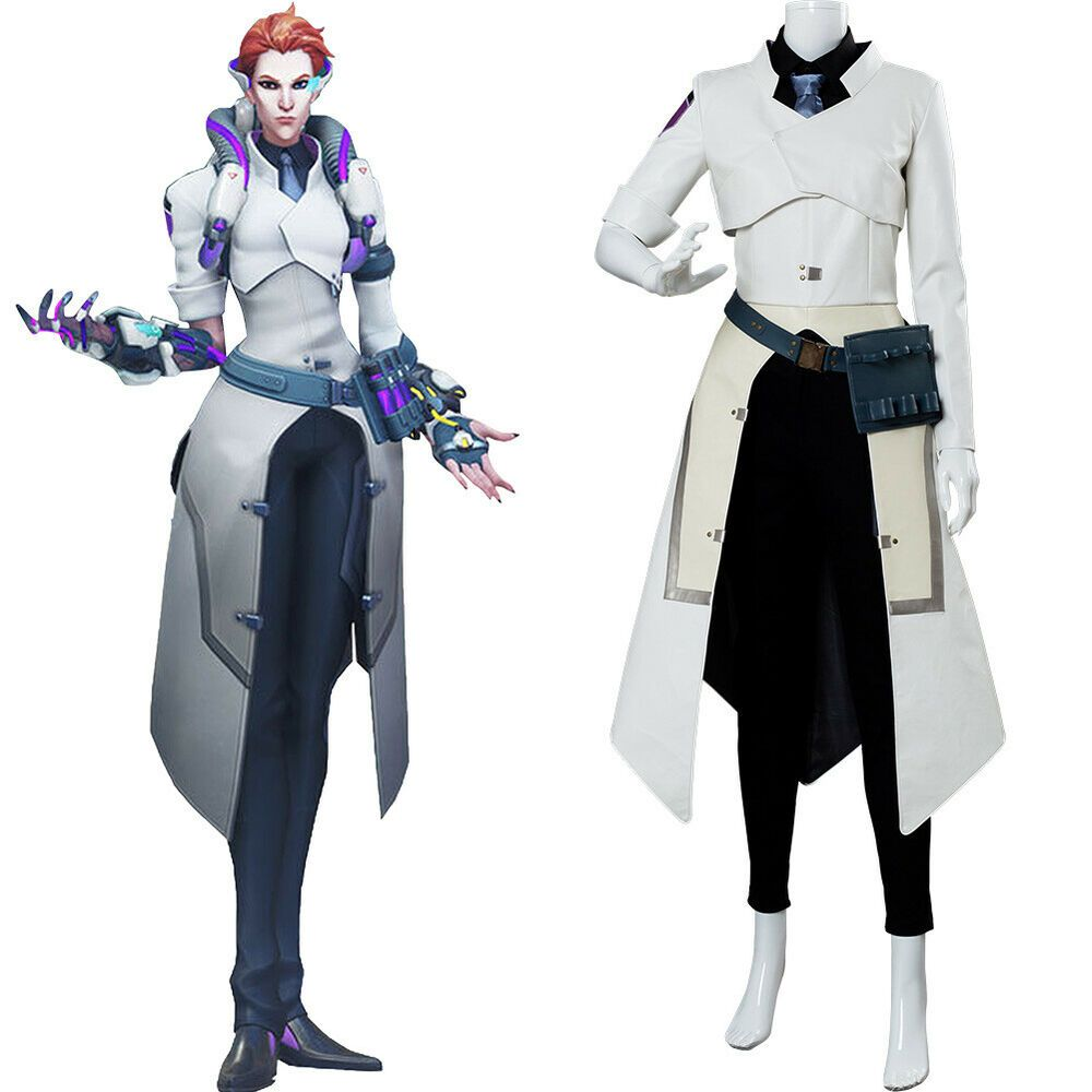 Game Overwatch OW Ashe Full Suit Outfit+Shoes Cosplay Costume Uniform Unisex Hot