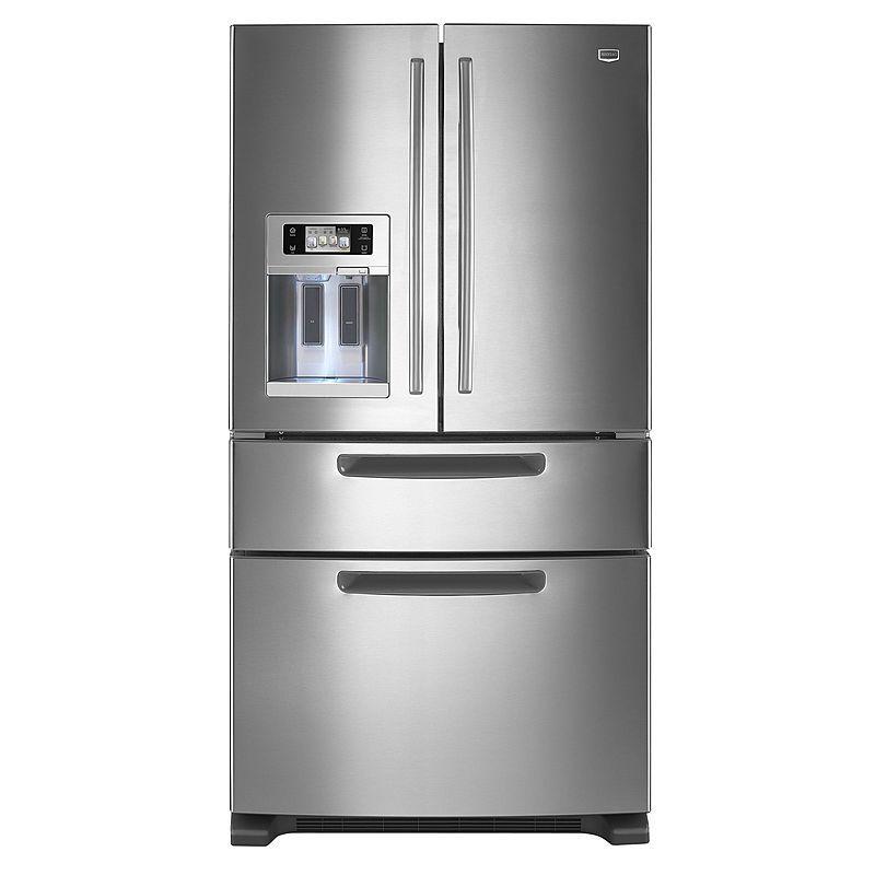 25 8 Cu Ft 5 Door French Door Refrigerator: Maytag 25.0 Cu. Ft. French Door Bottom Freezer Refrigerator W/ Dispenser Model # MFX2571XEM