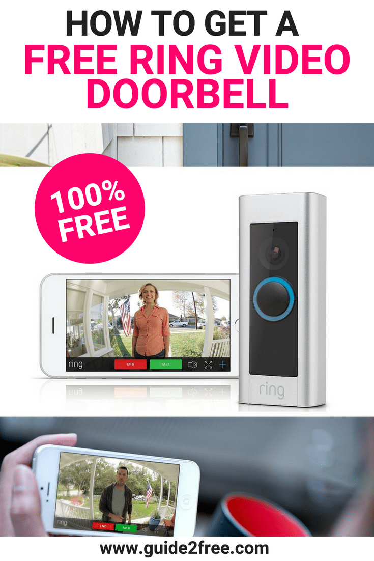 How to Get a FREE Ring Video Doorbell home Free ring