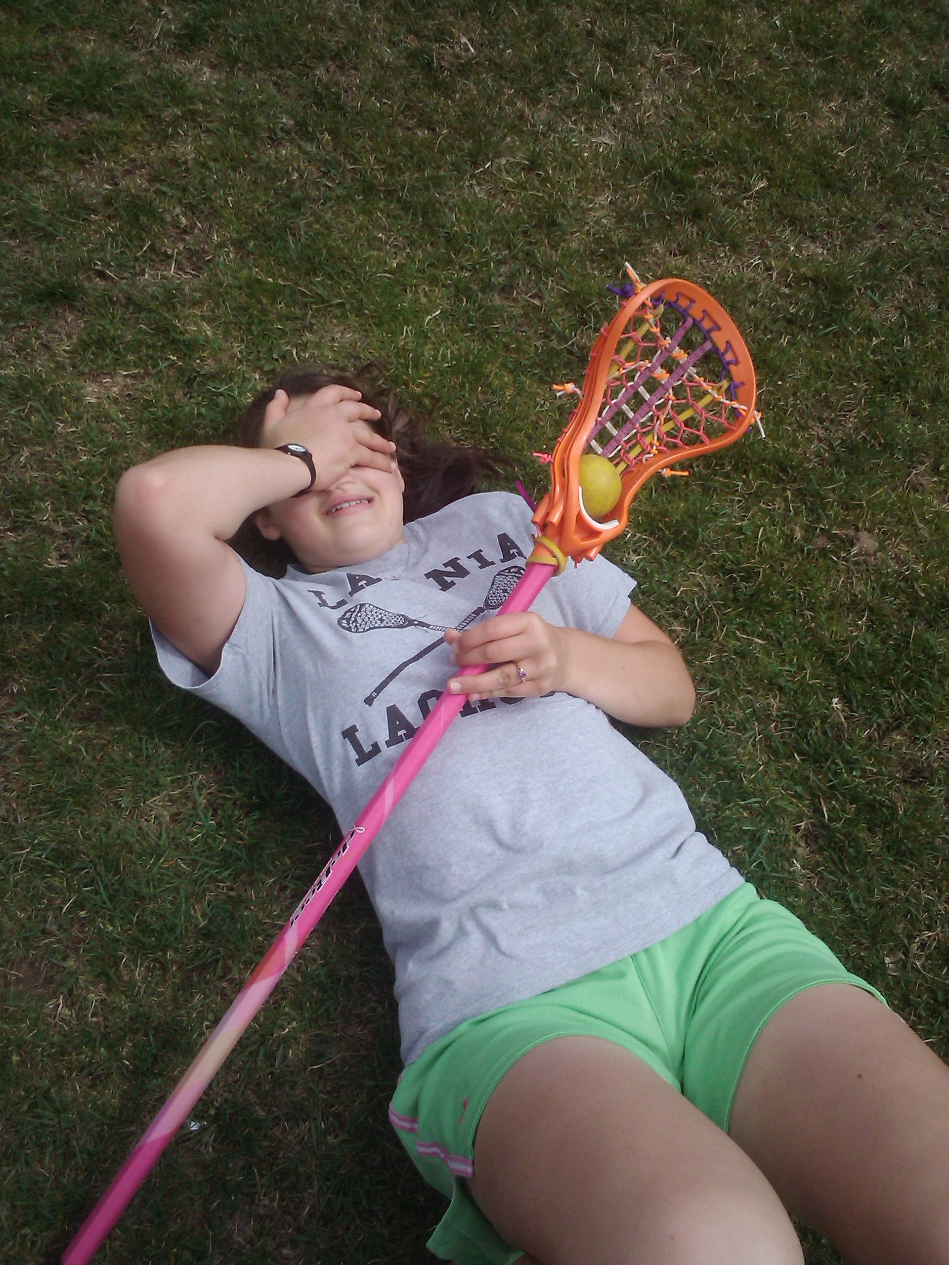 Because some days, you just have to facepalm. But hey, at least it's a lacrosse day!