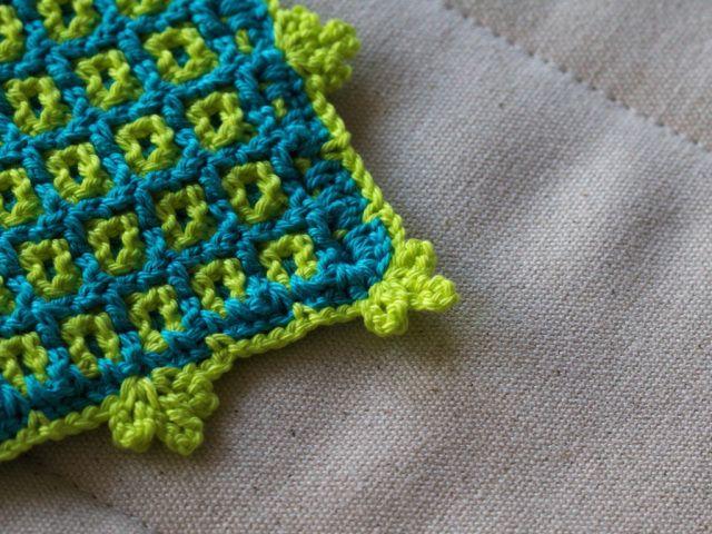 Meine Erfahrung Mit Doubleface Häkeln Crochet Häkeln Topflappen