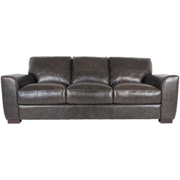 Amazing Dark Grey Italian All Leather Sofa Living Room Leather Bralicious Painted Fabric Chair Ideas Braliciousco