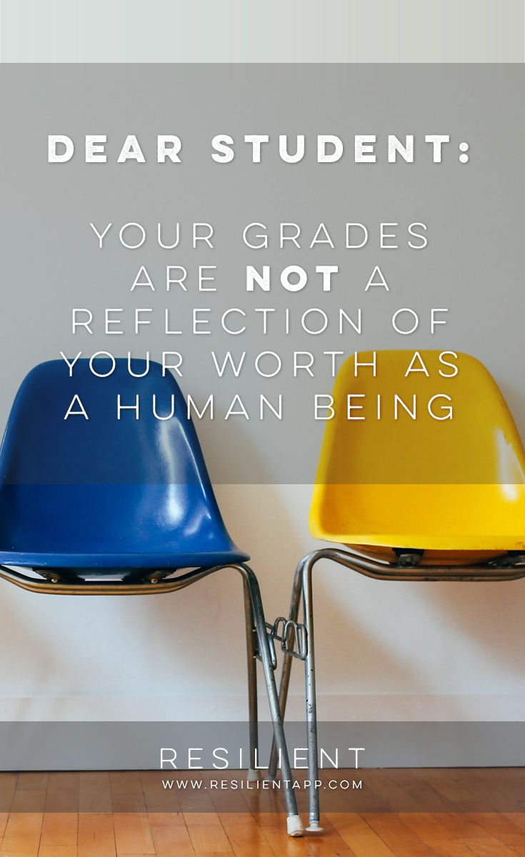 Dear Student, It's the start of a new school year. Maybe you're in high school…