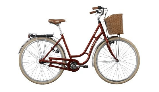 Vermont Saphire 7 Bicicleta De Paseo Para Mujer Rojo Bicicletas De Paseo Bicicleta Vintage Mujer Bicicletas