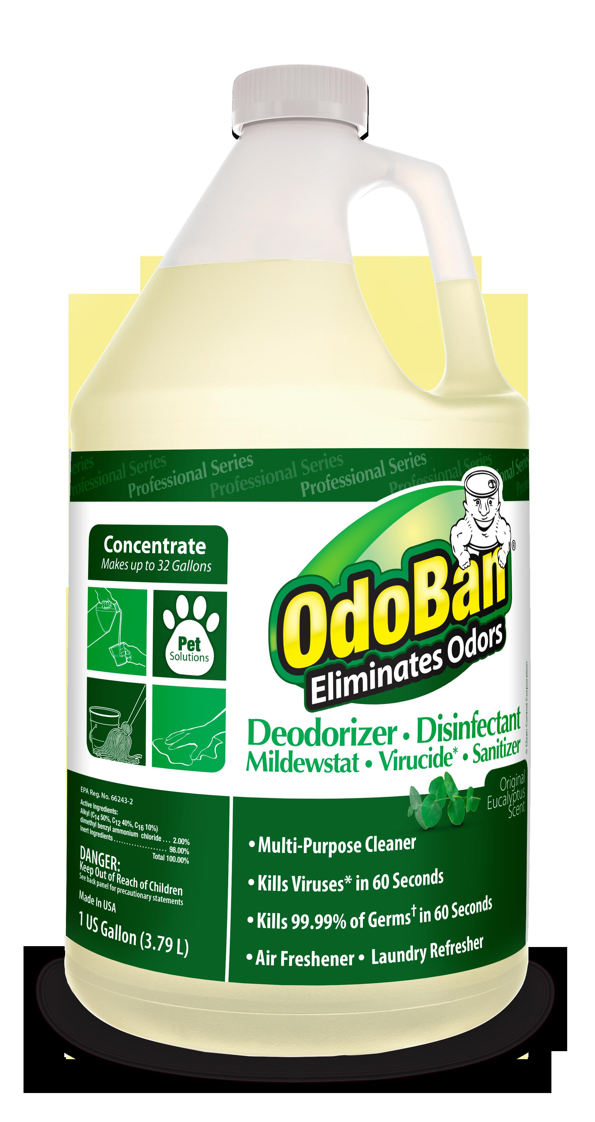 Original Eucalyptus Scent Multi Purpose Cleaner Kill Viruses In 60 Seconds Kills 99 99 Of Germ Odor Eliminator Pet Odor Eliminator Multipurpose Cleaner