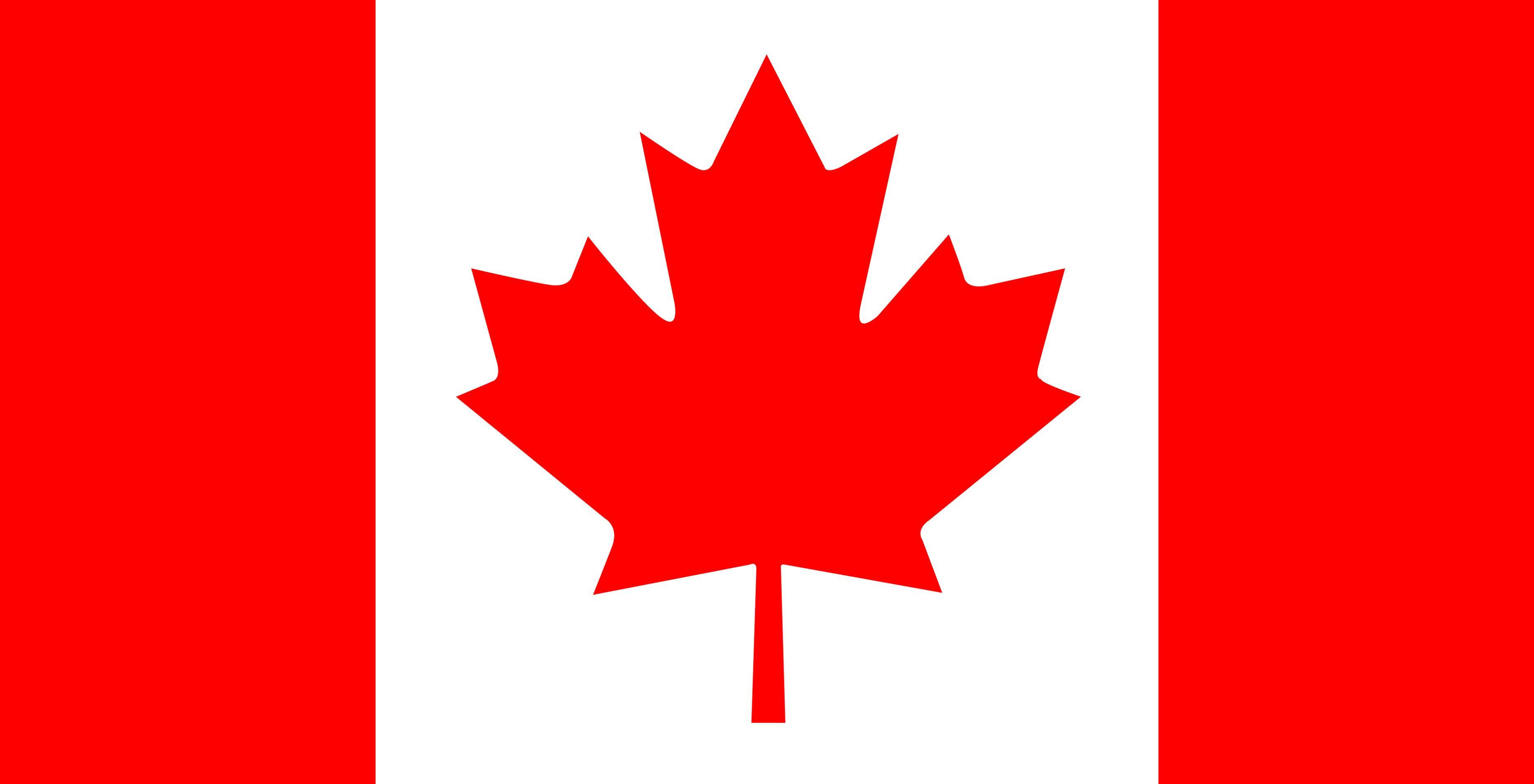 Born And Raised Vlag Van Canada Vlag Vlaggen