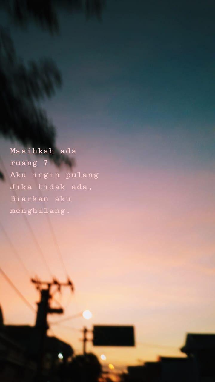Isaksendu Sunset Senja Quotes Pilu Kutipan Sendu Pilu
