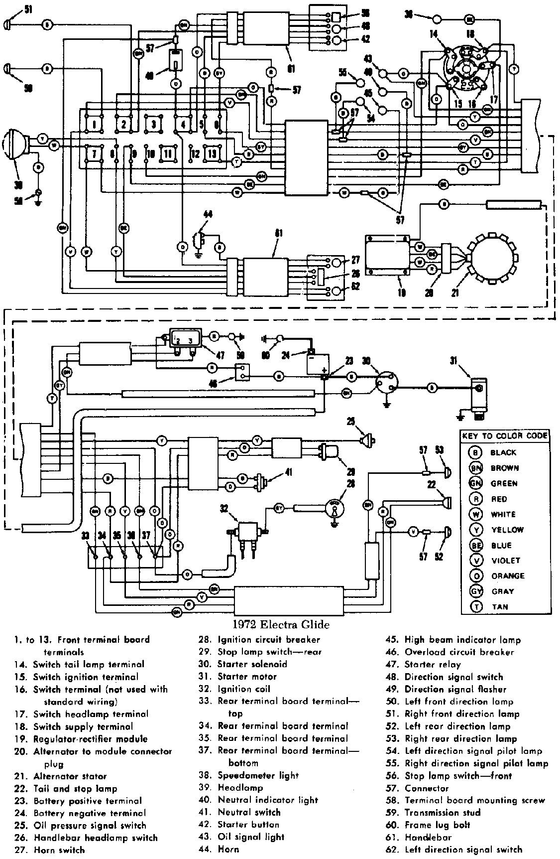 50 Free Harley Davidson Wiring Diagrams Ma4g I