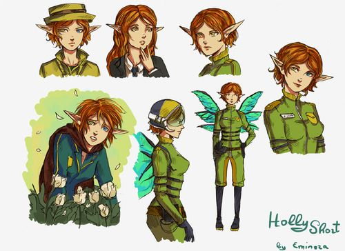 Holly Short From Artemis Fowl Is Awesome Nerdiness Pinterest