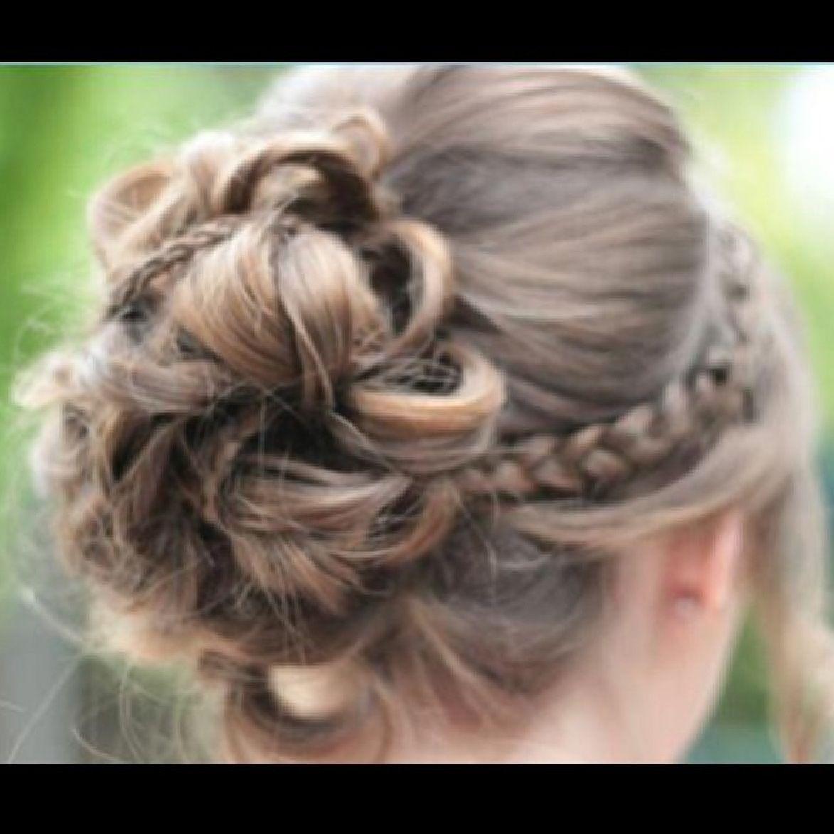from cute girls hairstyles hairstyles pinterest flechten frisuren und seitlich geflochten. Black Bedroom Furniture Sets. Home Design Ideas