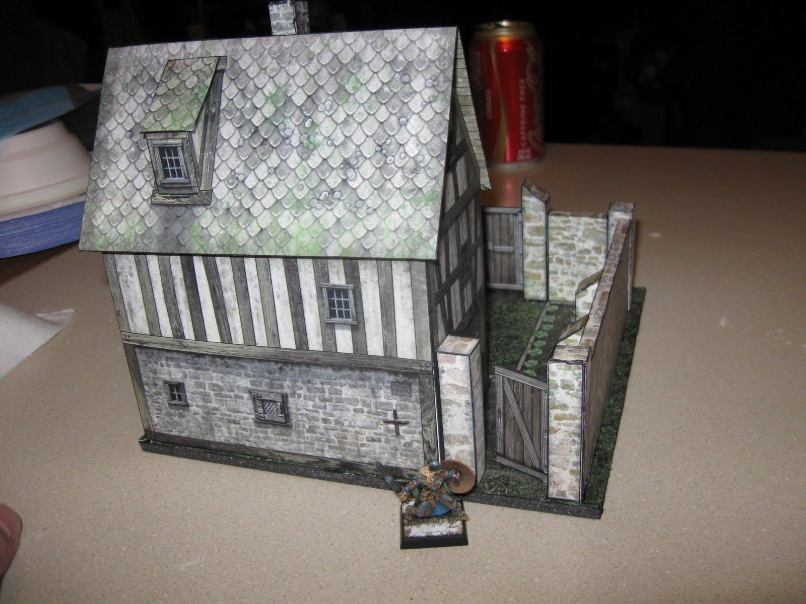 Dougs Workshop: Cardstock Buildings from Dave Graffam | Cardstock