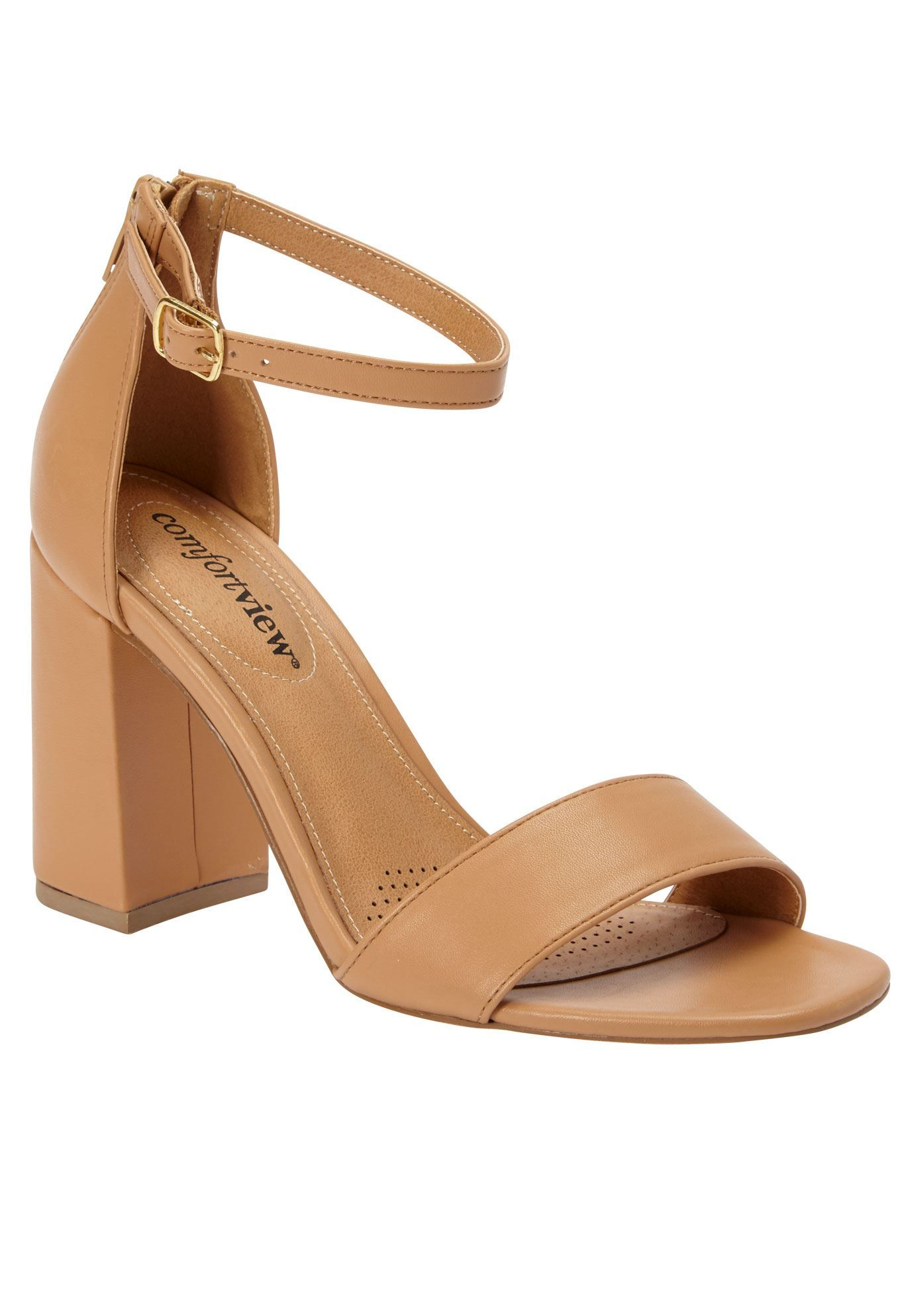 Shop for wide width Belle Sandals by Comfortview and more Plus Size Pumps &  Slings from Jessica London.