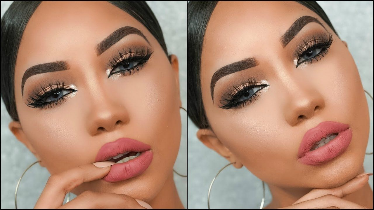My Go To Makeup Look Simple Glam Glamorous Makeup Date Night Makeup Best Makeup Products