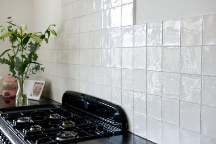 Tegels Keuken Witte : Keuken tegels wit google zoeken huis pinterest kitchen wall