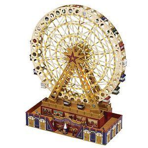 Christmas Ferris Wheel Music Box.Details About Mr Christmas World S Fair Grand Ferris Wheel