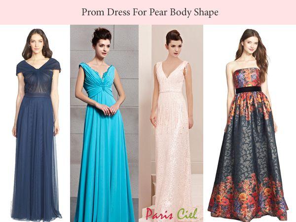 Prom Dress For Pear Body Shape | ples | Pinterest | Body shapes ...