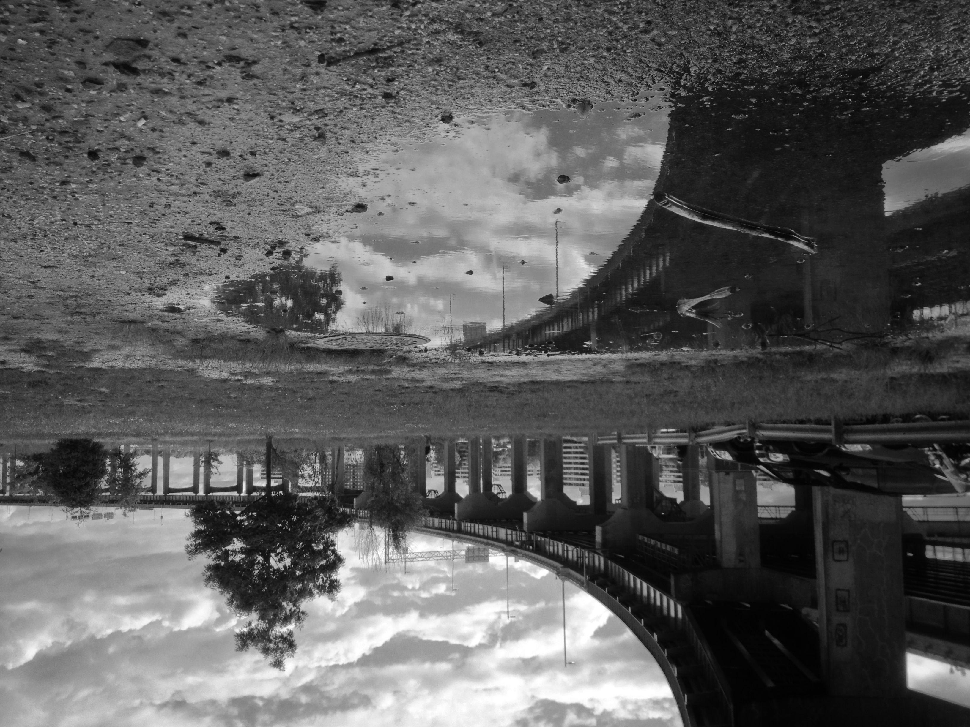 Copyright @Angeliki Jackson 2013   Black and white, Celestial, Outdoor