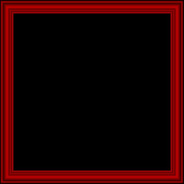 Red Border Frame Transparent Png Image Frame Clipart Scrapbook Frames Clip Art