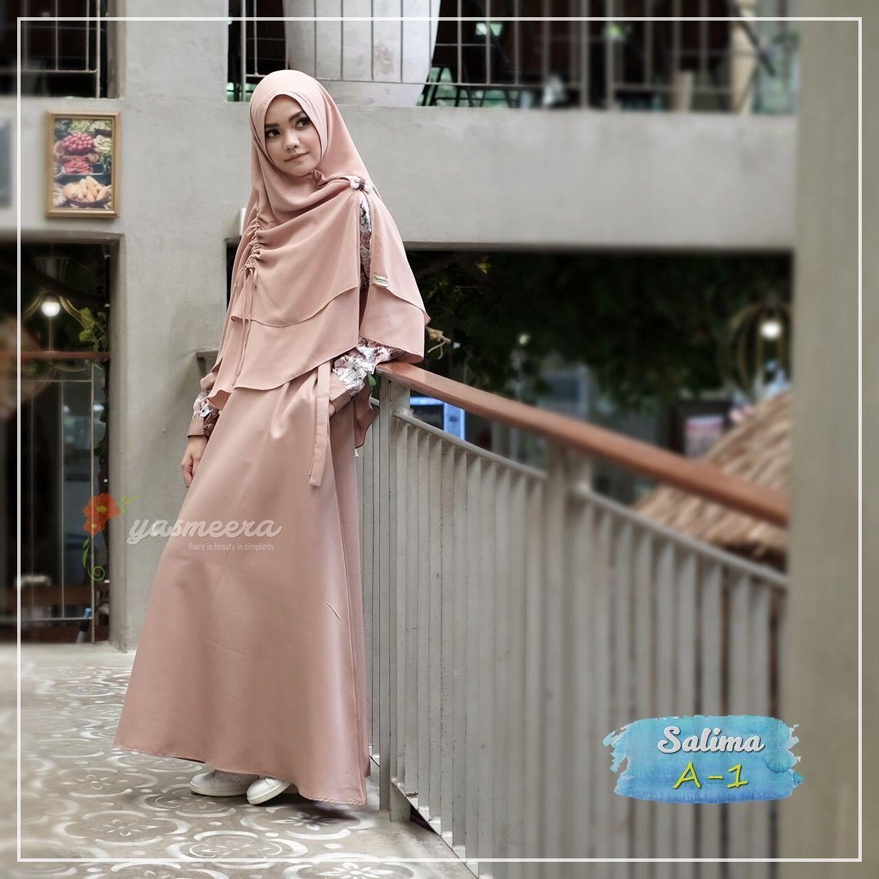Gamis Yasmeera Salima Series A1 Baju Gamis Wanita Busana