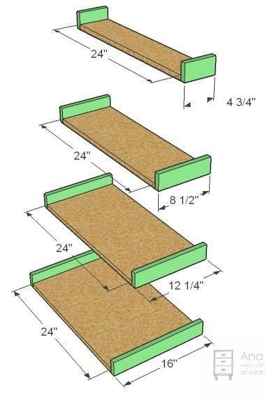 Build A Painter's Ladder Shelf