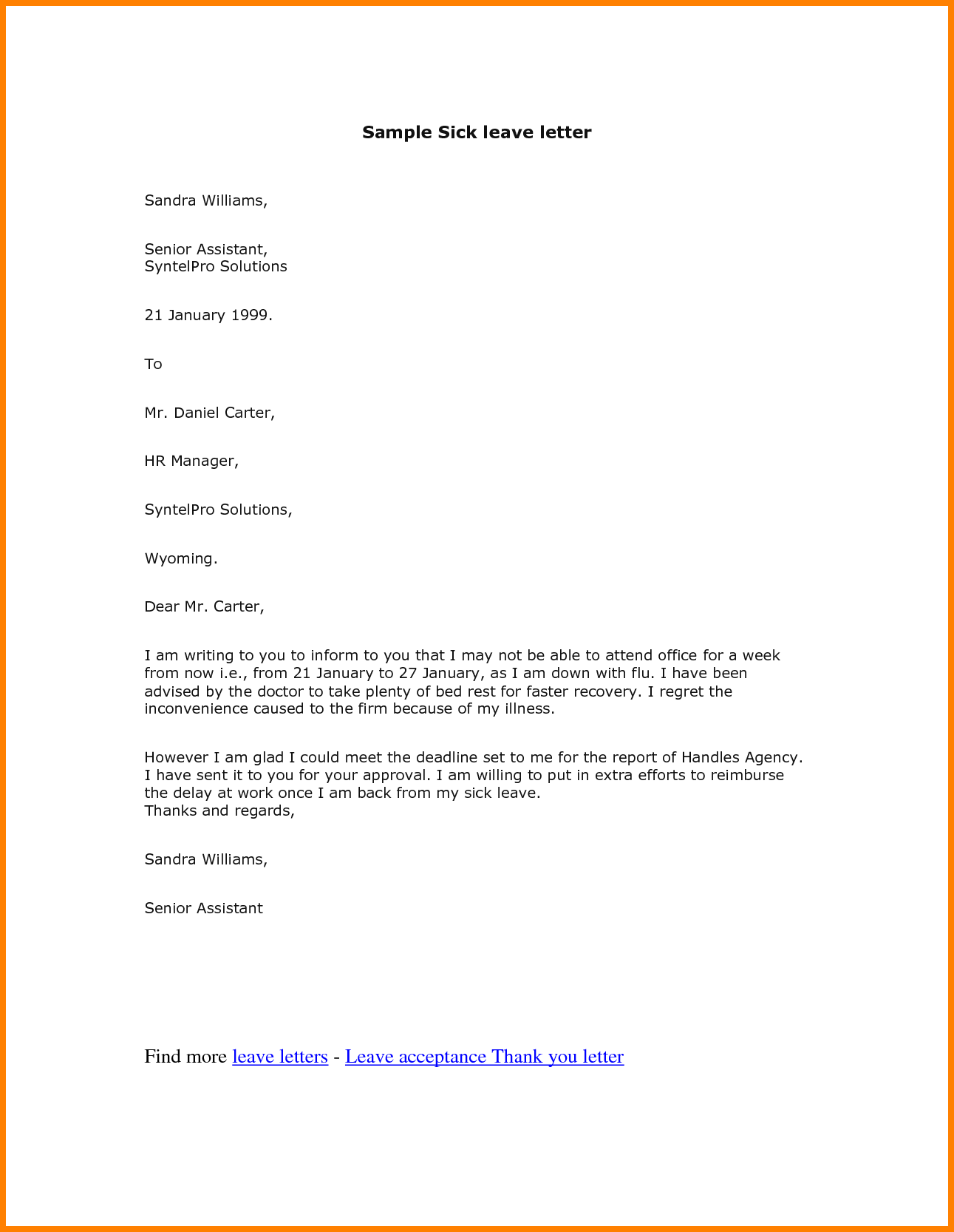 Writing Formal Cover Letters. PAge 2 A Guide TO WriTinG COver LeTTers And  OTher EmpLOymenT  Contents Of A Cover Letter