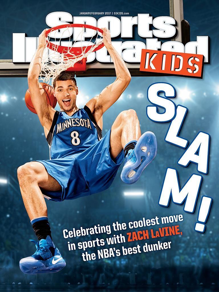 Sports Illustrated Kids Magazine Jan/Feb 2017 Edition