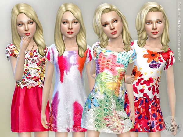 The Sims Resource: Designer Dresses Collection P29 by lillka • Sims 4 Downloads