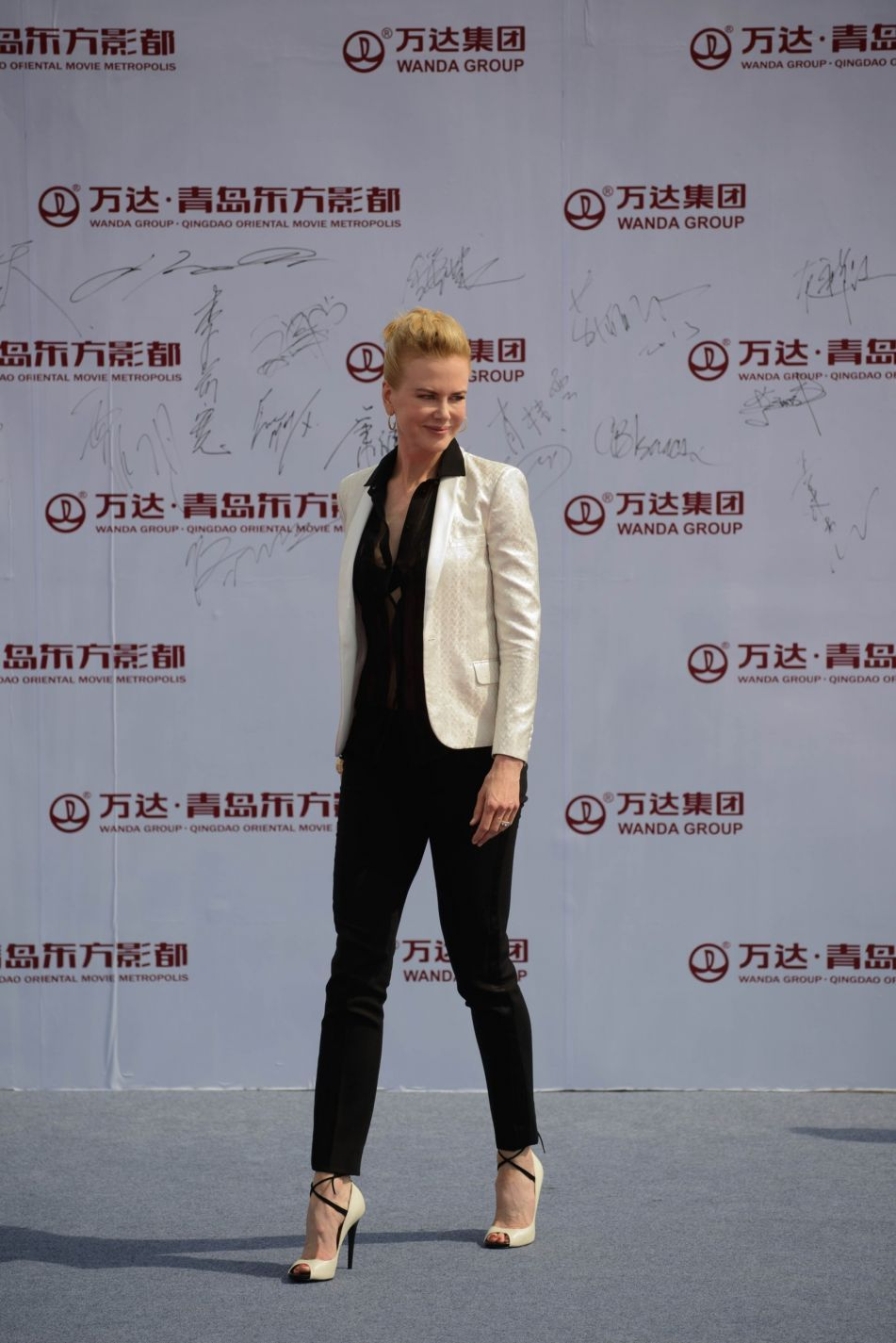 Nicole Kidman at Oriental Movie Metropolis Launch and Opening Ceremony, September 2013.