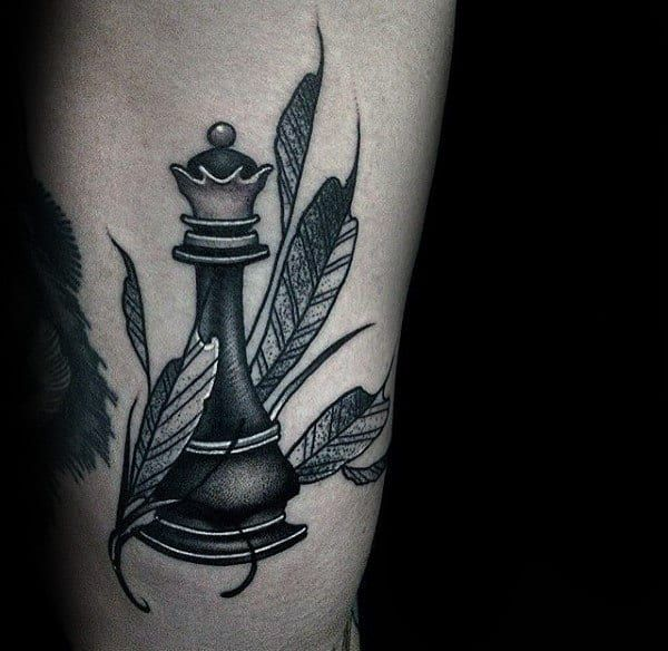 Photo of 60 King Chess Piece Tattoo Designs For Men – Powerful Ink Ideas