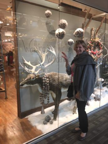 Dallas Market Home Accessories is part of Home Accessories Design Creative - Eileen Patterson, Lucia Creative Director, finds a new friend at The Dallas Market Center Lighting and Home Accessories Show!
