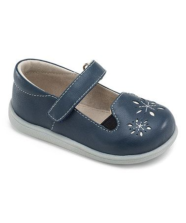 Loving this Navy Alaina Belle Leather Mary Jane on #zulily! #zulilyfinds