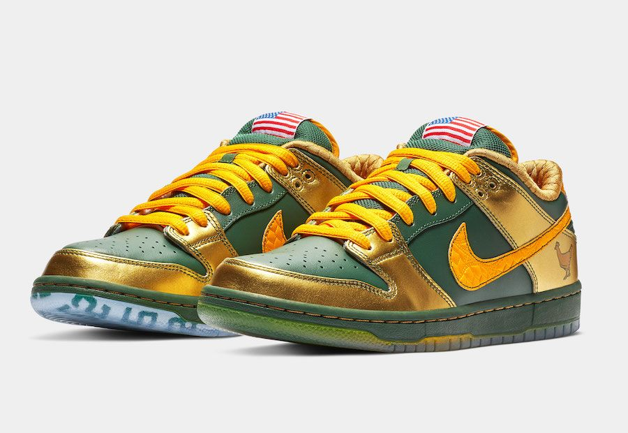 2cdd12ae2bf Nike SB Dunk Low Doernbecher Joey Bates BV8740-377 Release Date ...