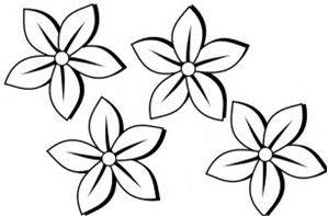 Image Result For Flower Outline Flowers