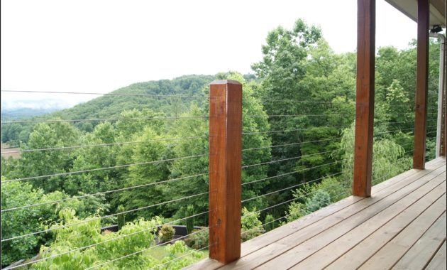Deck Railing With Wire Cable | House Look | Pinterest | Deck ...
