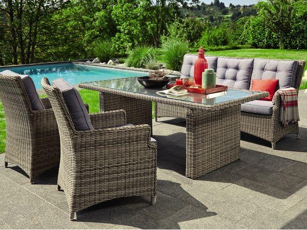 Das Sofa Amelie von Sunfun Elements zeichnet sich durch seinen - rattan gartenmobel ausverkauf