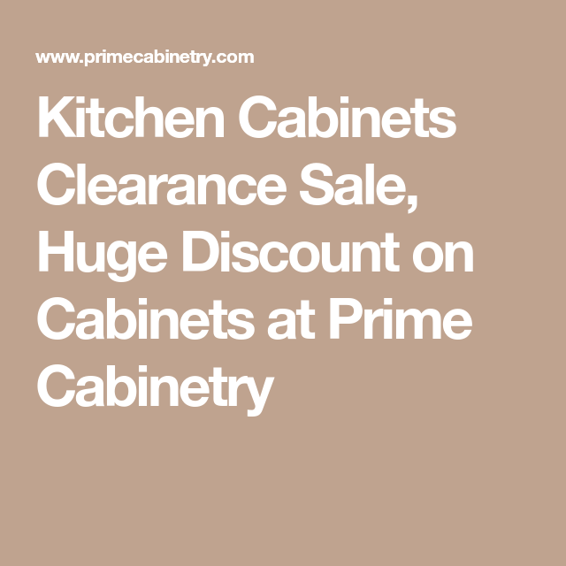 Best Kitchen Cabinets Clearance Sale Huge Discount On Cabinets 400 x 300