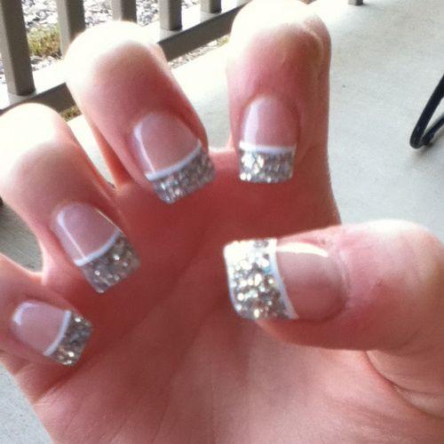 Cool tumblr acrylic nail designs easy nail art designs acrylic nail design pink acrylic silver glitter acrylic tips prinsesfo Gallery