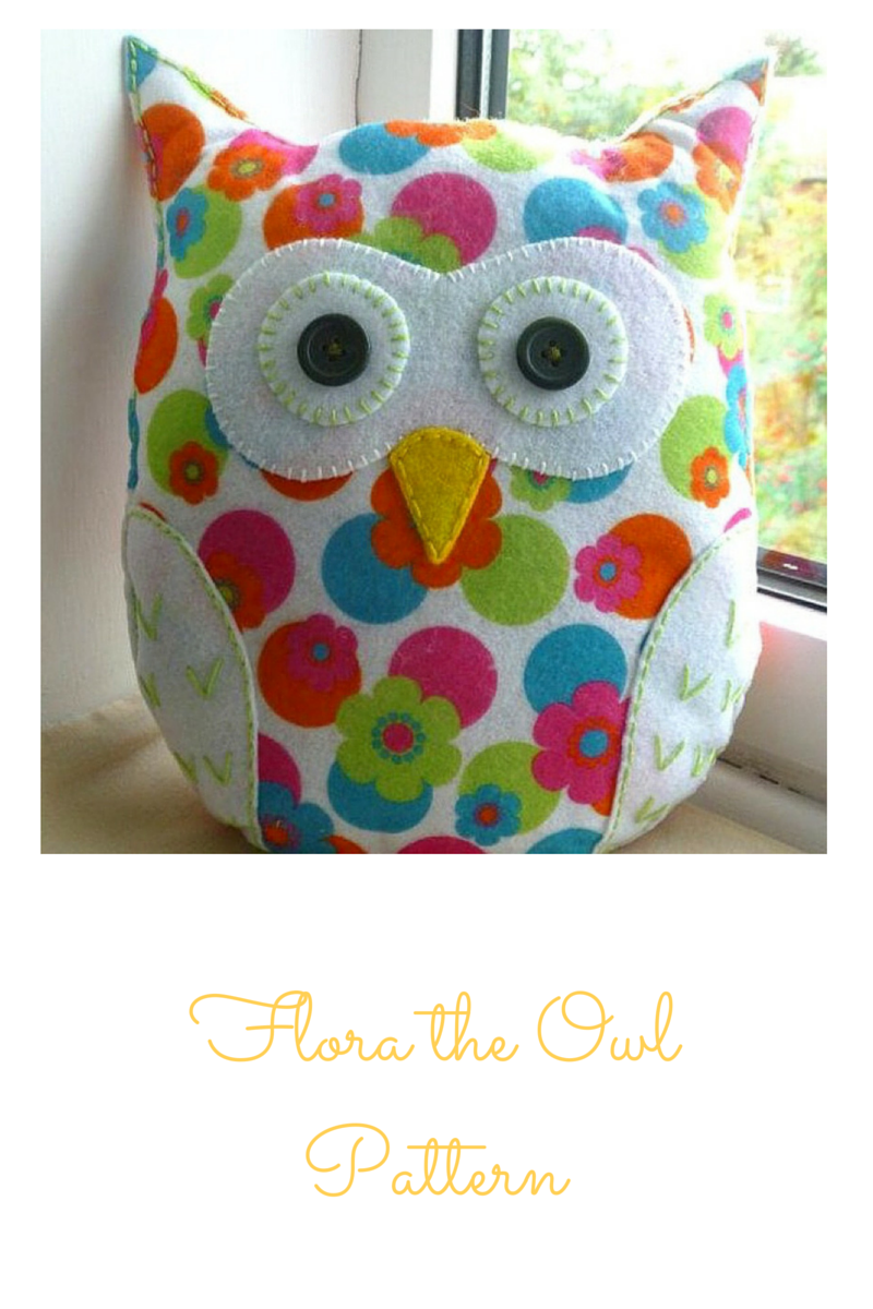 Introducing Flora the Owl - Take 2 | Fieltros | Pinterest