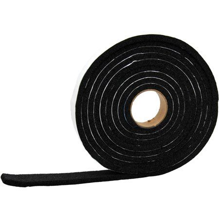 Ap Products 018 381210 Vinyl Foam Tape 3 8 Inch X 1 2 Inch X 50 Multicolor Red Smoke Tape Walmart