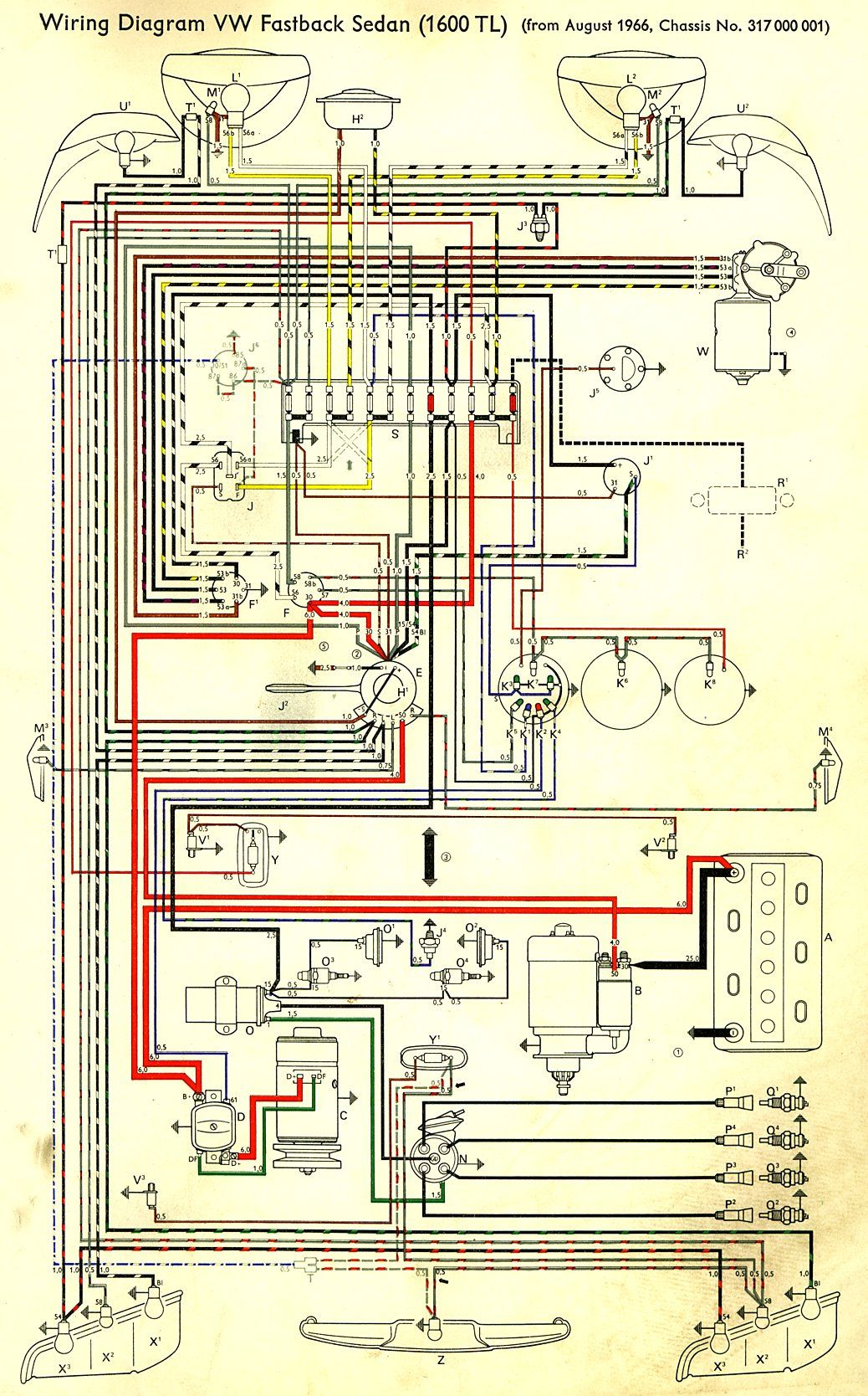 Wiring Diagram Type 928 Model 84 Page 1 Wiring 97 Front Engine