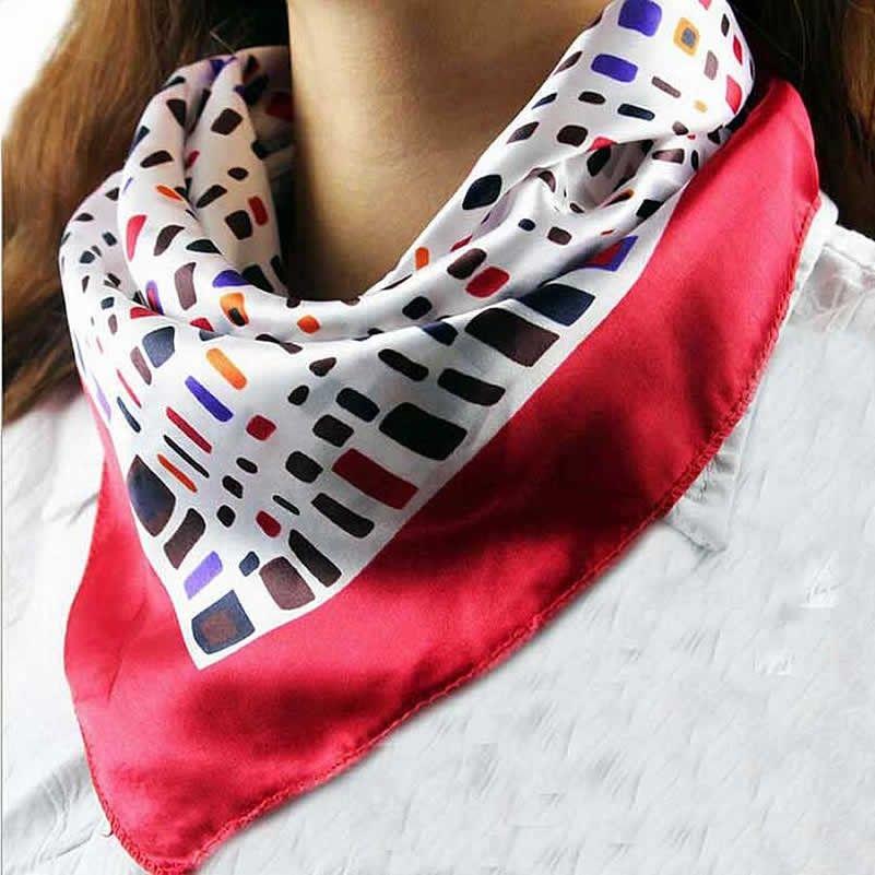 8289da92cbdc Carré de soie 50x50 cm - Silk square   Accessoires mode   Fashion ...