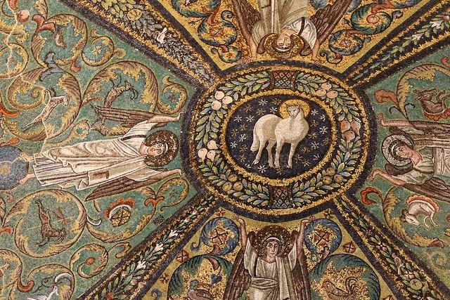 mosaici del soffitto del presbiterio (537 - 545) | by raffaele pagani
