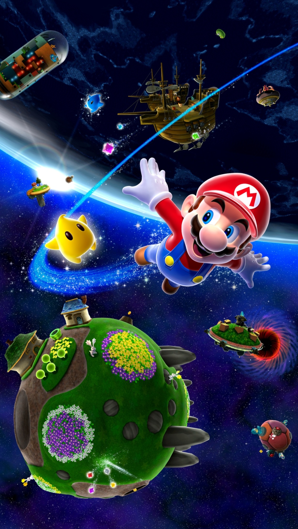 Pin By Best Of Wallpaper 4k On Wallpaper For Android Super Mario Art Super Mario Galaxy Mario Bros