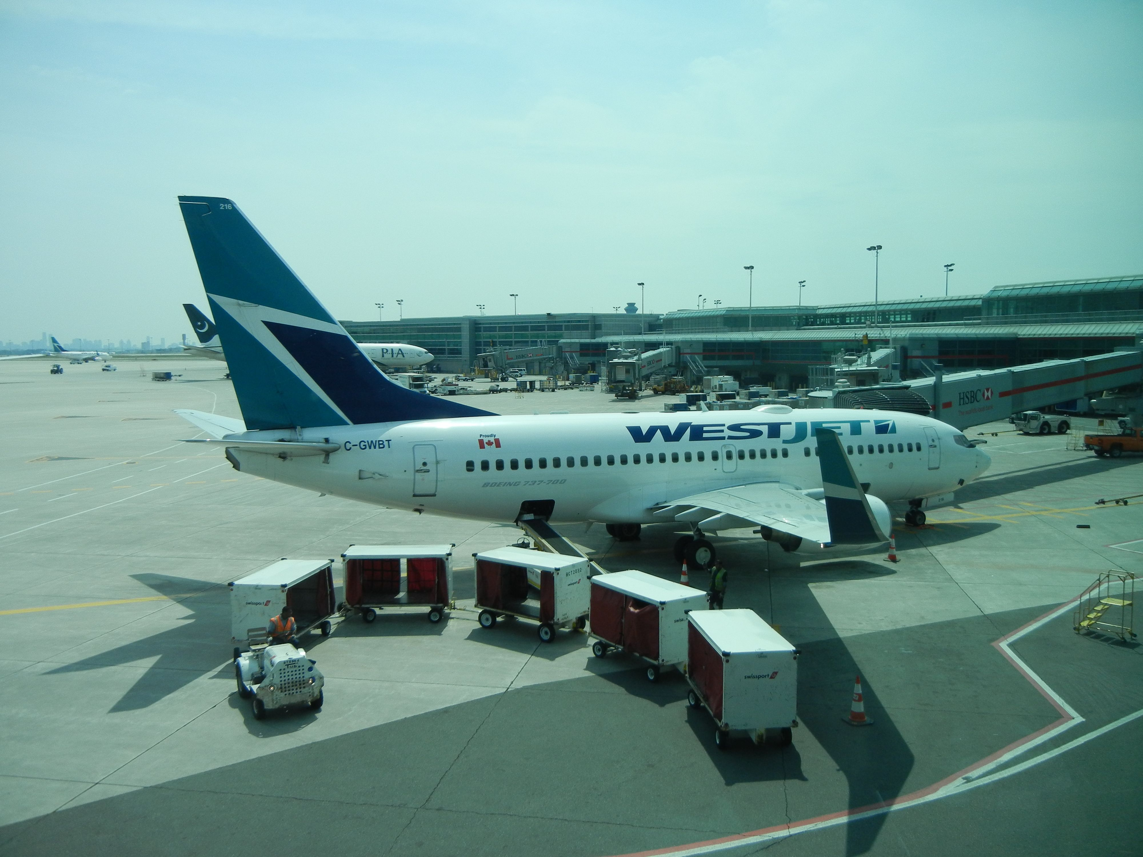 WESTJET The best lowcost airline in Canada. Its recent